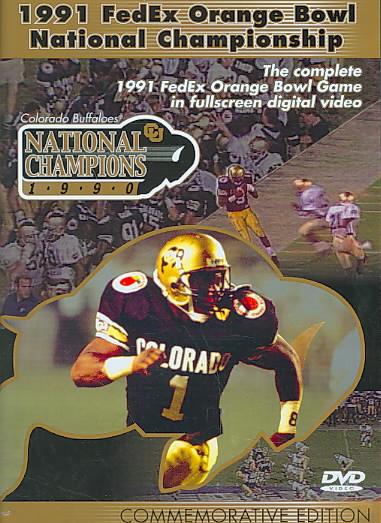 1991 FEDEX ORANGE BOWL NATIONAL CHAMP (DVD)